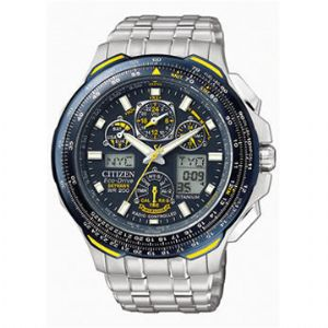 CITIZEN BLUE ANGEL SKYHAWK WATCH TITANIUM