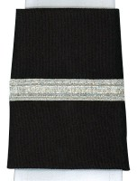 Silver One Bar Pilot Epaulettes