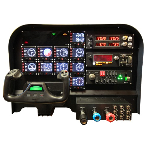 FLIGHT TRAINING COCKPIT ADVANCED PANEL