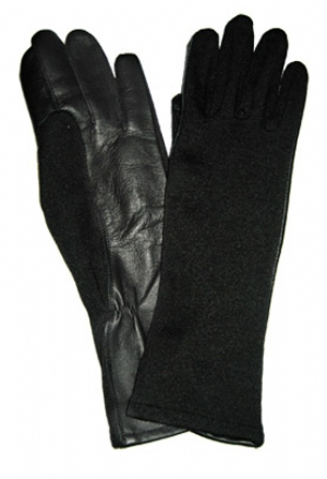 NELSON Nomex Flight Gloves - Black
