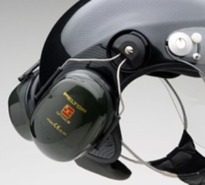 ICARO SkyRider helmet with headset